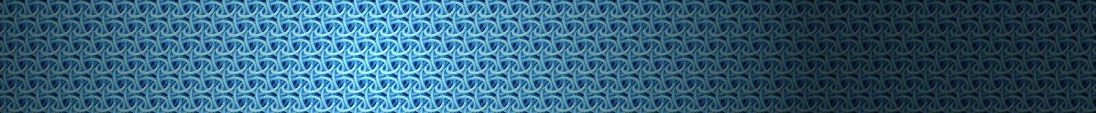 bakgrund 3d av en blå ingreppsstruktur Royaltyfri Bild