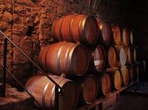 bakgrund 3d barrels model vit wine Royaltyfria Foton