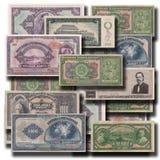 Bakgrund 3D för gamla pengar Royaltyfria Foton