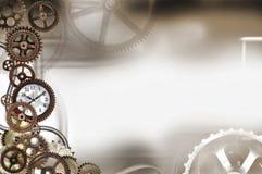 bakgrund 3d gears white Arkivfoto