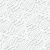 bakgrund 3d i vita skuggor med triangulära beståndsdelar vektor illustrationer