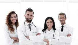 bakgrund doctors gruppen isolerad medicinsk white bakgrund isolerad white Arkivbild