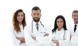 bakgrund doctors gruppen isolerad medicinsk white bakgrund isolerad white Royaltyfria Bilder