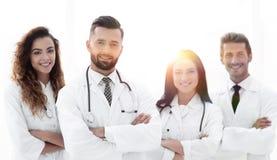 bakgrund doctors gruppen isolerad medicinsk white bakgrund isolerad white Fotografering för Bildbyråer