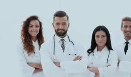 bakgrund doctors gruppen isolerad medicinsk white bakgrund isolerad white Arkivfoton