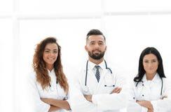 bakgrund doctors gruppen isolerad medicinsk white bakgrund isolerad white Royaltyfri Fotografi