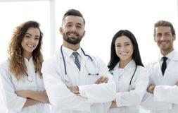 bakgrund doctors gruppen isolerad medicinsk white bakgrund isolerad white Royaltyfria Foton