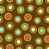 bakgrund dots polka stock illustrationer