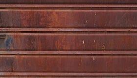 Bakgrund eller textur för Grunge metallvägg Arkivbilder