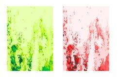 Bakgrund Färg skrapade den galna bilden som var passande som en bakgrund för dina diagram Royaltyfria Foton