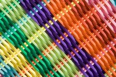 bakgrund färgad väv Arkivbild