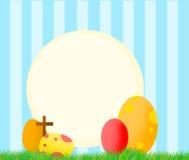 bakgrund färgade vektorn för tulpan för formatet för easter ägg eps8 den röda Royaltyfri Fotografi