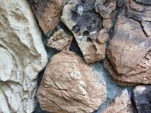 bakgrund föder upp den steniga stenstrukturen för rocken Royaltyfri Foto