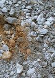 bakgrund föder upp den steniga stenstrukturen för rocken Arkivbild
