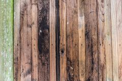 Bakgrund för Abstarct mörk wood texturantikvitet Arkivfoto