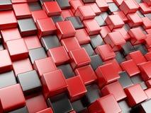 bakgrund för abstrakt begrepp 3d av kuber Fotografering för Bildbyråer