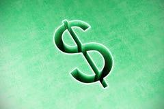 Bakgrund för abstrakt begrepp för dollartecken Royaltyfri Bild
