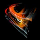 Bakgrund för abstrakt begrepp för brännskadaflammabrand Fotografering för Bildbyråer
