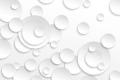Bakgrund för abstrakt begrepp för cirkeldesigndekor Royaltyfria Bilder