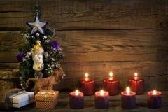 Bakgrund för abstrakt begrepp för jultappningträd Royaltyfri Foto