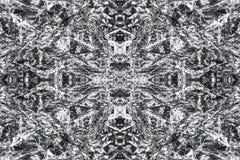 Bakgrund för abstrakt begrepp för modell för grå färgsvarttextur Royaltyfri Bild