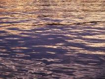 Bakgrund för abstrakt begrepp för natur för vattenkrusningsreflexion Royaltyfri Foto