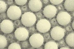 Bakgrund för abstrakt begrepp för signal för popkonst pastellfärgad Arkivbild