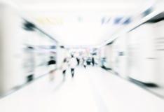 Bakgrund för abstrakt begrepp för stadsaffärsfolk suddig Arkivfoton