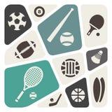 Bakgrund för abstrakt begrepp för tema för backgroundsports för sporttemaabstrakt begrepp vektor illustrationer
