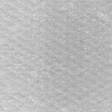 Bakgrund för abstrakt begrepp för textur för bubblasjal, detaljerad texturerad makroCloseup, bubblor för luft för ljus vit modell Arkivbild