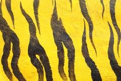 Bakgrund för abstrakt begrepp för tigercementvägg Royaltyfri Fotografi