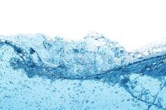 Bakgrund för abstrakt begrepp för våg för blått vatten arkivbilder