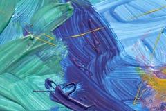 Bakgrund för abstrakt begrepp för vattenfärg för affischmålarfärger färgrik Royaltyfria Bilder