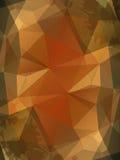 Beigen skrynklade pappers- abstrakt bakgrund Royaltyfri Bild