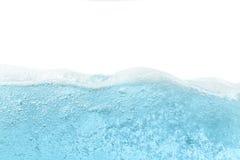 Bakgrund för abstrakt begrepp för wave för blått vatten Arkivfoton