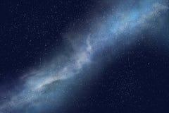 Bakgrund för abstrakt begrepp för natthimmel, utrymmebakgrund Royaltyfri Fotografi