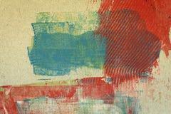 Bakgrund för abstrakt konst Royaltyfria Bilder