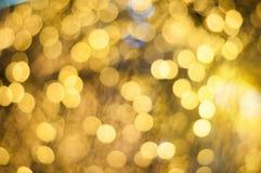 Bakgrund för abstrakt lyxig bokeh för guld suddig, storslagen lyx- glitz och glam royaltyfri fotografi