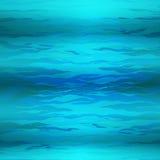 Bakgrund för abstrakt triangel för vektor undervattens-, abstrakt textur, blått vatten Arkivfoton