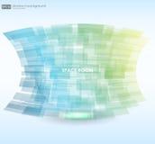 Bakgrund för affärsabstrakt begreppblått också vektor för coreldrawillustration färgrik abstrakt bakgrund Royaltyfri Foto