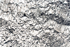 Bakgrund för Aluminum folie Arkivbilder