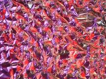 Bakgrund för Aluminum folie, Royaltyfri Foto