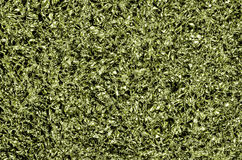 Bakgrund för Aluminum folie, gräsplan Arkivbild