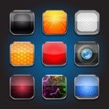 App-symbol-del 3 stock illustrationer