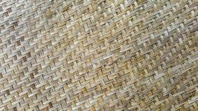 Bakgrund för bambubasketworktextur Royaltyfri Bild