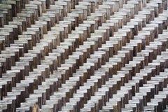 Bakgrund för bambusugrörtextur arkivbilder
