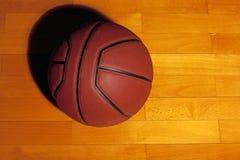 Bakgrund för basketparkettgolv inget royaltyfria bilder