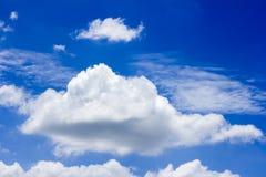 Bakgrund för blå himmel Arkivbild