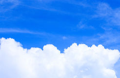 Bakgrund för blå himmel Arkivfoton