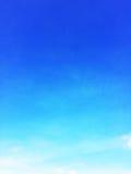 Bakgrund för blå himmel och tömmer utrymme för din design, inget moln Royaltyfria Bilder
